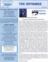 Church Newsletter PDF of Church Newsletter truelovebaptistorg WordPress site 1