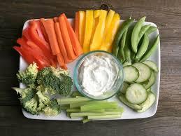 Image result for veggie platter