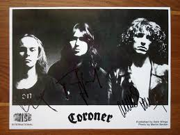 <b>Coroner</b> '<b>No More</b> Color' Autograph Card