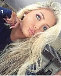 d722caa21e1cf84aa78d89db1df62436 hair and makeup blonde hair blue eyes