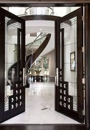 front french doorsfront door view to stair