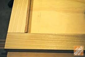 diy glass cabinet door how