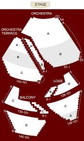 segerstrom hall seating chart