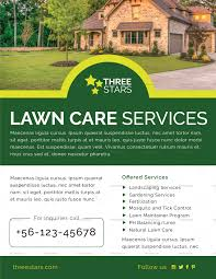 Sample Flyers For Landscaping Business 004 Lawn Care Flyer Template Top Ideas Templates Free Word
