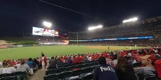 Angel Stadium Section 107 Rateyourseats Com