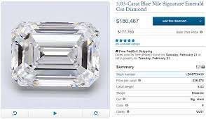 Emerald Cut Diamond Price Chart 5 Carat Diamond Ring Shopping Tips And Price Guide Updated