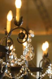 how to clean vintage crystal chandelier brass and dual sided facets on drops are clues to