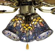Tiffany Ceiling Fan Light Shades Meyda Tiffany Peacock Feather 4 In H 4 In W Peacock Stained