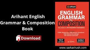 arihant english grammar book pdf