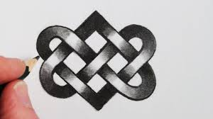 Celtic Design Love How To Draw A Celtic Love Knot Step By Step Celtic Love
