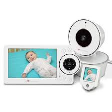 baby room monitors. Project Nursery 5\u201d High Definition Baby Monitor System With 1.5\ Room Monitors R
