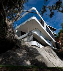 Small Picture Sydney Cliff Top House Nears Completion Luigi Rosselli Architects