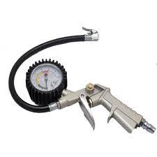 Đồng hồ đo áp suất, vòi bơm hơi xe máy tại Thái Bình
