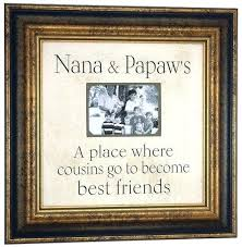 papa picture frame grandpas gift personalized nana grandmother grandfather photo x best papa picture frame