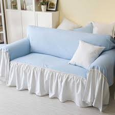 ideas furniture covers sofas. Simple Countryside Sofa Slipcover Ideas In Plain Blue And White Furniture Covers Sofas B