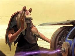 Star Wars Jar Jar Binks Sound Effects - YouTube via Relatably.com