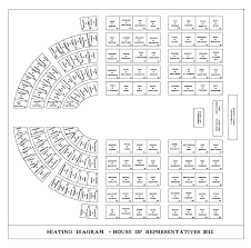 Senate Floor Seating Chart Us House Of Representatives Chamber Seating Plan