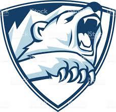 Emblem Design Polar Bear Emblem Design Soccer Logos Desain Logo Dan Desain