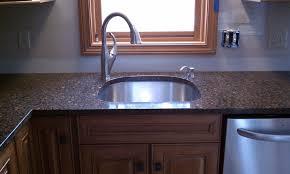 d shaped kitchen sink ideas