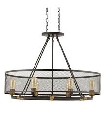 home decorators collection mayfield park 6 light bronze oval chandelier