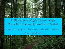 "a diagram of the four pairs of lovers in "" a midsummer night s   a midsummer night s dream major characters themes symbols and setting """