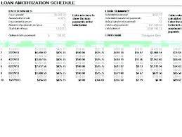 Amortization Table Excel Download Handtype