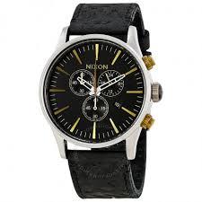 nixon sentry chronograph men s watch a4052222 sentry nixon nixon sentry chronograph men s watch a4052222