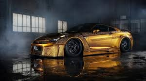 gold engraved nissan gtr windows gold engraved nissan gtr desktop wallpaper