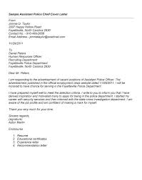 Police Cover Letter Examples Sarahepps Com