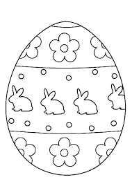 Bunnies Coloring Pages Bunny Printable Cute Colouring Easter Eggs