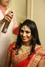 shwetha chandu bridal makeup in bangalore