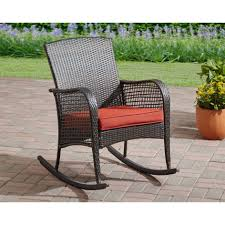 magnificent patio chairs 13 all weather wicker swivel rocking chair outdoor black sets porch best adirondack mainstays cambridge park com