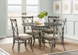 dining room gray. cindy crawford home shorecrest gray 48 in 5 pc round dining set room includes