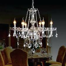 flameless candle chandelier luxury classic vintage crystal chandeliers lighting 6 lights for wilson and fisher led flameless candle chandelier