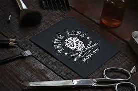 логотип барбершопа и тату салона Thug Life