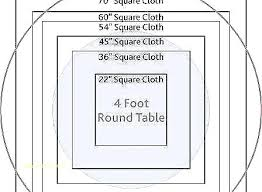 4 foot round tables in round tablecloth excellent the best round table sizes ideas for round