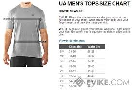 Under Armour Arm Sleeve Size Chart Under Armour Compression Shorts Size Chart