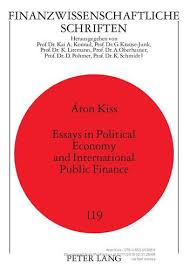 finance essays oapen library essays in political economy and