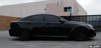 lexus lfa blacked out. Wonderful Out OEM Lexus Wheels Powder Coated Black Via Snail Motorsports Blacked Out  Emblems Inside Lfa N