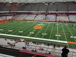 Syracuse Football Dome Seating Chart Carrier Dome Section 318 Syracuse Football Rateyourseats Com