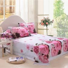 d pink rose bedding set  ebeddingsets