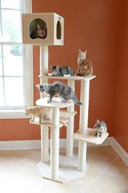 cool cat tree furniture. Cool Cat Stuff ♥ Here\u0027s A Really Tree Without Carpet. Lots Of Sisal Scratching Posts, Platforms And Cubbies For Snoozing. Furniture L
