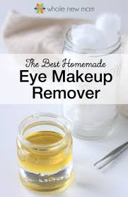 i tried a bunch of homemade eye makeup removers and this one worked the best