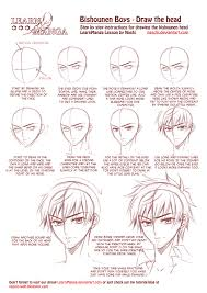 Hair Style Anime learn manga bishounen boys draw the head by naschi on deviantart 5263 by wearticles.com