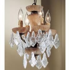 dylan 4 light mini chandelier crystal type italian rock amber
