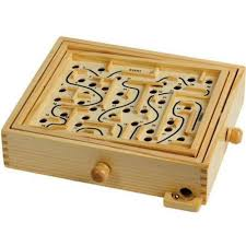Wooden Maze Games Classic Wooden Labyrinth Maze Game Grizzly Supply Co 64