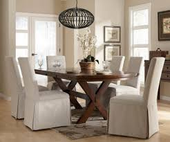 stylish dining room fancy chair covers slipcovers long intended for table