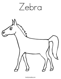 Small Picture zebra without stripes coloring page zebra without stripes