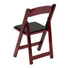 wooden folding chairs with padded seats. Interesting Chairs Flash Furniture  Hercules Series Mahogany Wood Folding Chair With Vinyl Padded  Seat XF2903MAHWOODGG For Wooden Chairs Seats