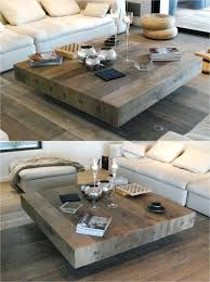 coffee table square wood wooden handmade square coffee table wood living room tables rustic reclaimed wood coffee table square